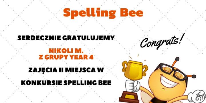Wyniki konkursu Spelling Bee