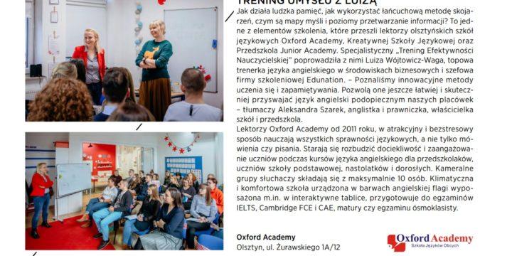 Kreatywna Szkoła Językowa w Made IN :)