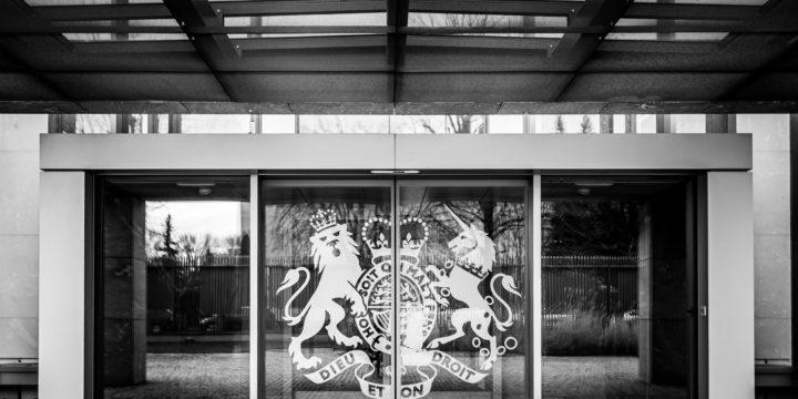 Z wizytą w Ambasadzie Brytyjskiej :)